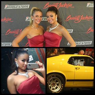 Throwback to Barrett-Jackson in 2009 - my first year!